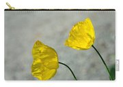 Two Yellow Blossoms Carry-all Pouch