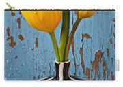 Two Yellow Tulips Carry-all Pouch