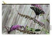 Two Zebra Swallowtail Butterflies Carry-all Pouch