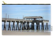 Tybee Island Pier Closeup Carry-all Pouch