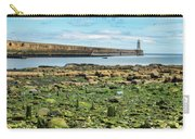 Tynemouth Pier Landscape In Color 2 Carry-all Pouch