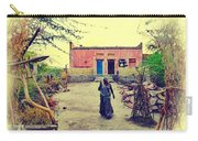 Typical House India Rajasthani Village 1j Carry-all Pouch