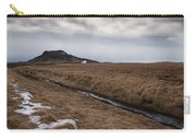 Typical Icelandic Mountain Landscape Carry-all Pouch