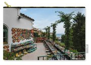 Typical Shop Display Of Ceramics For Sale In Positano, Amalfi Co Carry-all Pouch