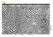 Typical Whorl Pattern In 1900 Carry-all Pouch
