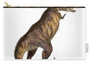 Tyrannosaurus Rex On White Carry-all Pouch