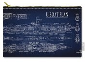 U-boat Submarine Plan Carry-all Pouch