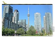 Toronto Towers From The Park Carry-all Pouch