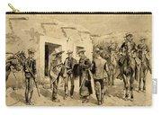 U. S. Cavalry Hunting Garza Men On The Rio Grande Carry-all Pouch