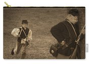 U. S. Civil War Messenger Boy On The Run Carry-all Pouch