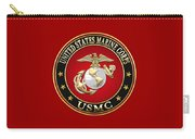 U. S. Marine Corps - U S M C Emblem Special Edition Carry-all Pouch
