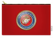 U. S. Marine Corps - U S M C Seal  Carry-all Pouch