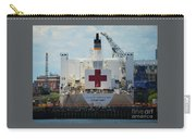 U S N Hospital Ship, Comfort In Boston's Dry Dock Carry-all Pouch