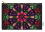 u028 Wholehearted Hibiscus Carry-all Pouch