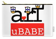 uBABE Art Wave Carry-all Pouch