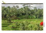 Ubud Rice Paddy Fields Carry-all Pouch