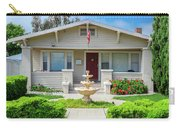 Suburban Arts And Crafts Hayward California 18 Carry-all Pouch