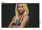Ufc Fighter Paige Van Zant Carry-all Pouch