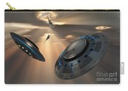 Ufos And Fighter Planes In The Skies Carry-all Pouch