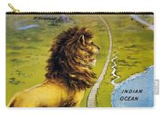 Uganda Railway - British East Africa - Retro Travel Poster - Vintage Poster Carry-all Pouch