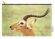 Ugandan Kob In Profile Carry-all Pouch