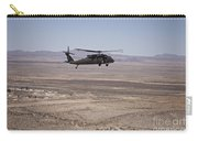 Uh-60 Black Hawk En Route To New Mexico Carry-all Pouch