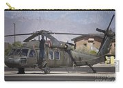 Uh-60 Black Hawk Helicopter At Pinal Carry-all Pouch