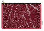 Uh Street Map - University Of Houston In Houston Map Carry-all Pouch