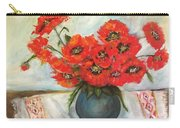 Ukrainian Poppies Carry-all Pouch