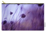 Ultra Violet Botanical Carry-all Pouch