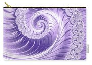 Ultra Violet Luxe Spiral Carry-all Pouch