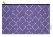 Ultra Violet Quatrefoil Carry-all Pouch
