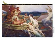 Ulysses And The Sirens Carry-all Pouch by Herbert James Draper