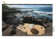 Umbrella On Beach Carry-all Pouch