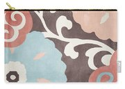 Umbrella Skies II Suzani Pattern Carry-all Pouch