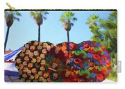 Umbrellas Day Of The Dead Paint  Carry-all Pouch