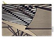 Umbrellas Sepia Carry-all Pouch