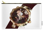 Umbria Florals Timepiece Carry-all Pouch