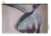 Unaccustomed Thought-abstract Art Carry-all Pouch