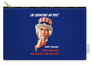 Uncle Sam - I'm Counting On You Carry-all Pouch