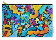 Uncommon Feasts Carry-all Pouch by Chaline Ouellet