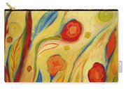 Under A Sky Of Peaches And Cream Carry-all Pouch by Jennifer Lommers