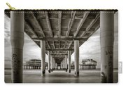 Under The Boardwalk Carry-all Pouch by Dave Bowman