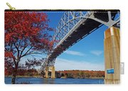 Under The Bourne Bridge Carry-all Pouch