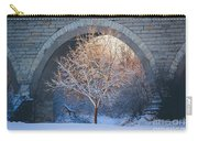 Under The Bridge, A Winter's Song Carry-all Pouch