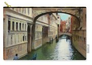 Under The Bridge Of Sighs Carry-all Pouch