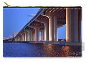 Under The Bridge With Lights 01175 Carry-all Pouch
