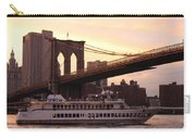Under The Brooklyn Bridge  Carry-all Pouch
