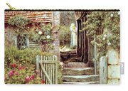 Under The Old Malthouse Hambledon Surrey Carry-all Pouch by Helen Allingham