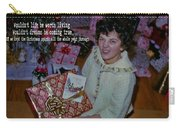 Under The Tree Quote Carry-all Pouch